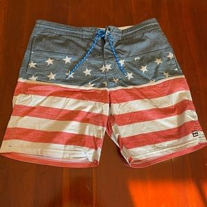 Billabong American Flag Board Shorts